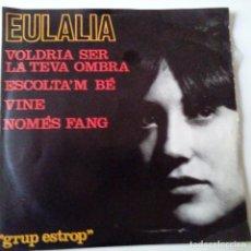 Discos de vinilo: EULALIA- VOLDRIA SER LA TEVA OMBRA - EP 1964 + ENCARTE- VINILO EXC. ESTADO.. Lote 128416683