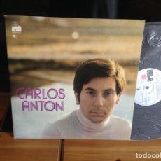 Discos de vinilo: CARLOS ANTON - PRÓLOGO /ALBUM LP 11 TEMAS (CANTAUTOR GALIZA) ARIOLA 1972. NM - NM . Lote 128418707