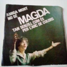 Discos de vinilo: MAGDA - AMIGA MORT - EP 1964 - VINILO EXC. ESTADO.. Lote 128424747