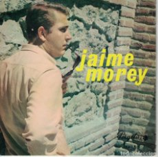 Discos de vinilo: JAIME MOREY - GUAPA/CUANDO LLEGUE LA TARDE/ROSITA/EL TIEMPO (EP ESPAÑOL, PERGOLA 1968). Lote 128424851
