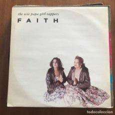 Discos de vinilo: WEE PAPA GIRL RAPPERS - FAITH - MAXISINGLE JIVE UK 1988. Lote 128424859