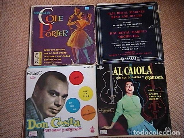 Discos de vinilo: Lote de 23 singles de música orquestal. - Foto 4 - 128427335