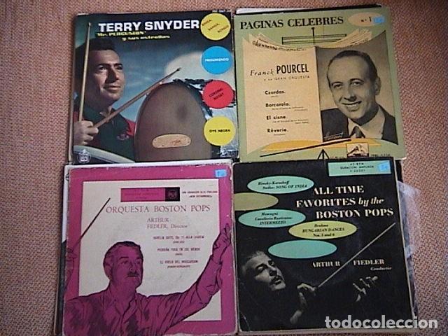 Discos de vinilo: Lote de 23 singles de música orquestal. - Foto 5 - 128427335