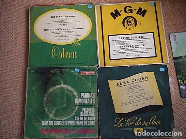 Discos de vinilo: Lote de 23 singles de música orquestal. - Foto 7 - 128427335