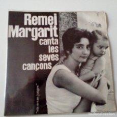 Discos de vinilo: REMEI MARGARIT - CLASSE MITJA - EP 1962 + ENCARTE - EXC. ESTADO.. Lote 128431223