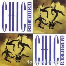 Discos de vinilo: CHIC - MYSTIQUE - 7 SINGLE - AÑO 1992. Lote 128433927