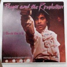 Discos de vinilo: PRINCE AND THE REVOLUTION - I WOULD DIE 4 U - SG PROMO - ED ESPAÑOLA 1985. Lote 128439439
