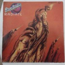 Discos de vinilo: ROCKETS - RADIATE - SG PROMO - ED ESPAÑOLA 1982. Lote 128439619