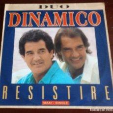 Discos de vinilo: DUO DINAMICO - RESISTIRE - MAXI SINGLE.12. Lote 128442287
