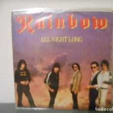 Discos de vinilo: RAINBOW - ALL NIGHT LONG. Lote 128443895