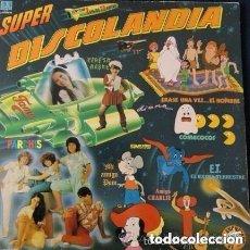 Discos de vinilo: DISCOLANDIA, DOBLE LP BELTER 1983 INFANTILES. Lote 128453923