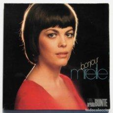 Discos de vinilo: LP BONJOUR MIREILLE, MIRELLE MATHIEU, EDICIÓN ALEMANA. Lote 128457851