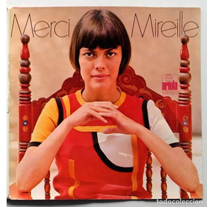 LP MERCI MIREILLE, MIRELLE MATHIEU, EDICIÓN ALEMANA (Música - Discos - LP Vinilo - Otros estilos)