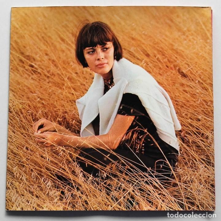 Discos de vinilo: LP Merci Mireille, Mirelle Mathieu, Edición Alemana - Foto 2 - 128458051