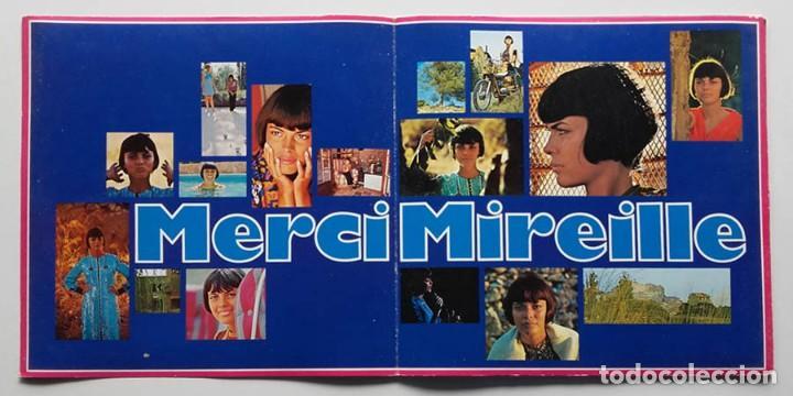 Discos de vinilo: LP Merci Mireille, Mirelle Mathieu, Edición Alemana - Foto 3 - 128458051