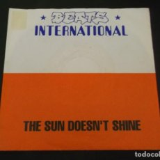 Discos de vinilo: BEATS INTERNATIONAL - THE SUN DOESN'T SHINE +1. Lote 128464395