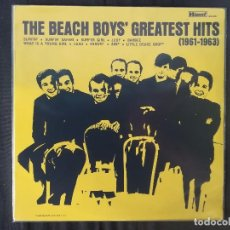 Discos de vinilo: THE BEACH BOYS / THE SURFIN SIX-THE BEACH BOYS´ GREATEST HITS. Lote 128465407