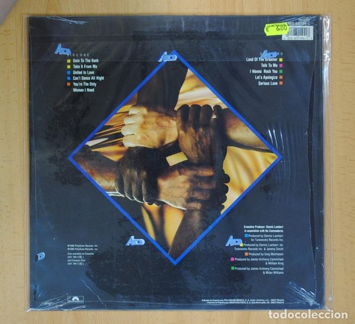 Discos de vinilo: COMMODORES - UNITED - LP - Foto 2 - 128467644