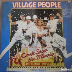 Discos de vinilo: VILLAGE PEOPLE - CAN'T STOP THE MUSIC - RCA 1980 - P. Lote 128471663