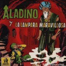 Discos de vinilo: ALADINO Y LA LAMPARA MARAVILLOSA - EP 1961 ODEON . Lote 128471851