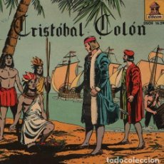Discos de vinilo: CRISTOBAL COLON - EP 1959 ODEON - CUENTOS TEBEO - DISCO. Lote 128472203