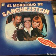 Discos de vinilo: EL MONSTRUO DE SANCHEZSTEIN LP ESPAÑA 1978 PROMO (VIN-A6). Lote 128472483