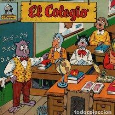 Discos de vinilo: EL COLEGIO - EP 1958 ODEON - CUENTOS. Lote 128473007