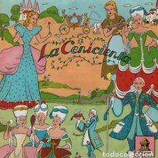 Discos de vinilo: LA CENICIENTA - EP RECONSTRUCCION TECNICA 1954 ODEON - CUENTOS. Lote 128473191