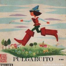 Discos de vinilo: PULGARCITO - EP LIBRO DISCO PHILIPS 1965 - CUENTOS. Lote 128474779