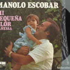 Discos de vinilo: MANOLO ESCOBAR.. Lote 128480951