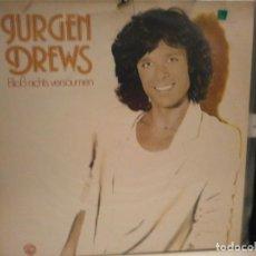 Discos de vinilo: LP. JURGEN DREWS. Lote 128481235