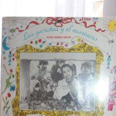 Discos de vinilo: *CELAIDA MENÉNDEZ. LAS GAVIOTAS Y EL MARINERO* PREMIO EGREM MEJOR DISCO MÚSICA INFANTIL. 1989. NUEVO. Lote 128485535