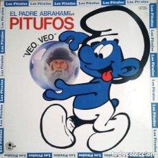 Discos de vinilo: EL PADRE ABRAHAM Y SUS PITUFOS – VEO VEO - LP SPAIN 1980. Lote 128492087