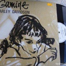 Discos de vinilo: GAMINE -HARLEY DAVIDSON -LP 1985. Lote 128496111