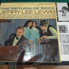 Discos de vinilo: LP ORIG USA 1965 JERRY LEE LEWIS THE RETURN OF ROCK VG++. Lote 128429099