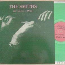 Discos de vinilo: THE SMITHS - THE QUEEN IS DEAD - REEDICION LP POLACO VINILO VERDE. Lote 128503983