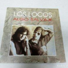 Discos de vinil: LOS LOCOS - ALGO SALVAJE + SAL DE AQUI -SINGLE- EL COHETE / DRO 1991 SPAIN 1H019 COMO NUEVO. Lote 128508455