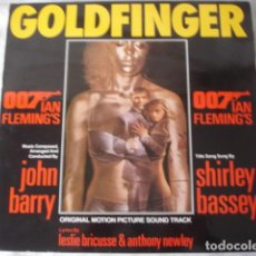 Discos de vinilo: JOHN BARRY GOLDFINGER (ORIGINAL MOTION PICTURE SOUND TRACK) . Lote 128522359