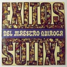 Discos de vinilo: 1973 LP EXITOS DEL MAESTRO QUIROGA. Lote 128522551