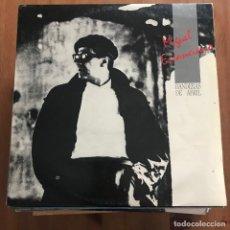 Discos de vinilo: MIGUEL ESCANCIANO - BANDERAS DE ABRIL - MAXISINGLE DRO 1986. Lote 128522891