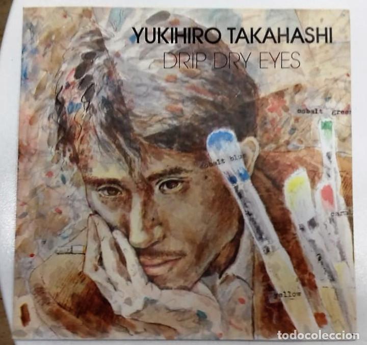 YUKIHIRO TAKAHASHI - DRIP DRY EYES / NEW ROSES SG PROMO ED. ESPAÑOLA 1981 (Música - Discos - Singles Vinilo - Electrónica, Avantgarde y Experimental)