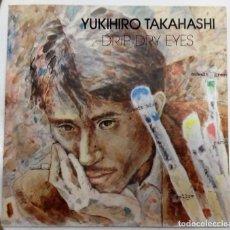 Discos de vinilo: YUKIHIRO TAKAHASHI - DRIP DRY EYES / NEW ROSES SG PROMO ED. ESPAÑOLA 1981. Lote 128534635
