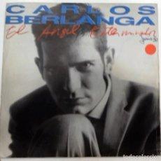 Discos de vinilo: CARLOS BERLANGA - EL ANGEL EXTERMINADOR SG ED. ESPAÑOLA 1990. Lote 128536151