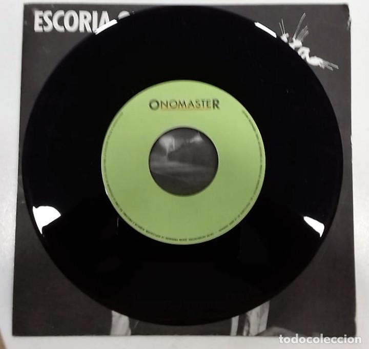 Discos de vinilo: ESCORIA ORIENTAL - LA MUÑECA MUERTA SG PROMO ED. ESPAÑOLA 1987 - Foto 4 - 128536927