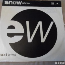Discos de vinilo: SNOW - INFORMER. Lote 128538371