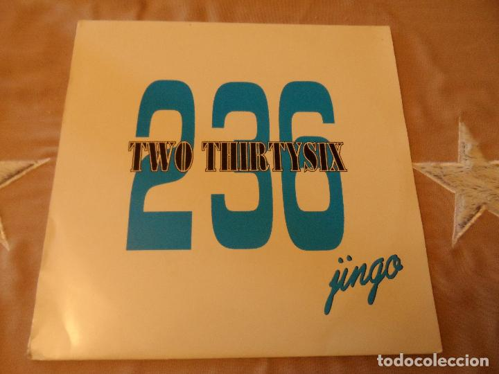 236 TWO THIRTYSIX - JINGO (Música - Discos de Vinilo - Maxi Singles - Techno, Trance y House)