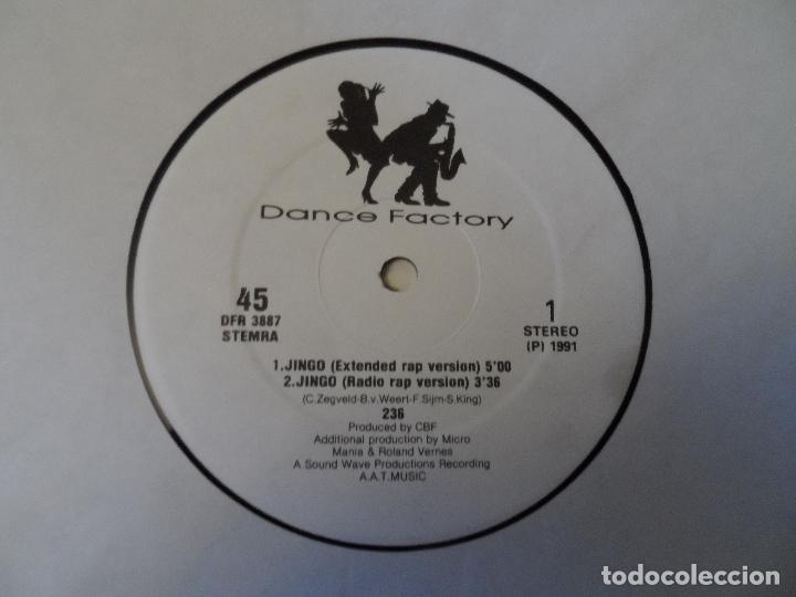 Discos de vinilo: 236 TWO THIRTYSIX - Jingo - Foto 3 - 128538619