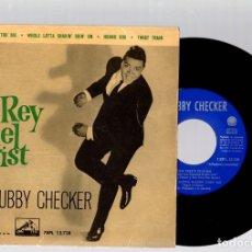 Discos de vinilo: SINGLE CHUBBY CHECKER. EL REY DEL TWIST. AÑO 1968. ODEON. Lote 128541324