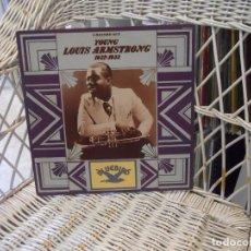 Discos de vinilo: LOUIS ARMSTRONG –YOUNG LOUIS ARMSTRONG/1932-1933 .DOBLE LP EDICION USA 1977.GATEFOLD.SELLO BLUEBIRD. Lote 128555219