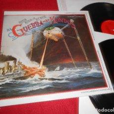 Discos de vinilo: LA GUERRA DE LOS MUNDOS VERSION EN INGLES BSO OST MUSICAL JEFF WAYNE 2LP 1978 CBS GATEFOLD SPAIN. Lote 128561159